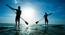 Free Paddle Board with every boat rental